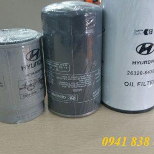 lọc nhớt, lọc thô, lọc tinh Hyundai Xcient