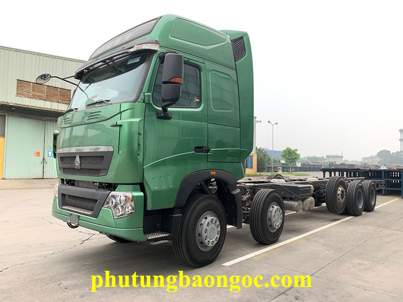 xe tải thùng Howo 5 chân